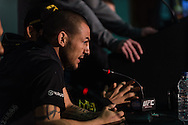 LONDON, ENGLAND, FEBRUARY 13, 2013: Cub Swanson during the pre-fight press conference for UFC on Fuel TV 7 inside London Shootfighters Gym in Park Royal, London, England on Wednesday, February 13, 2013 © Martin McNeil