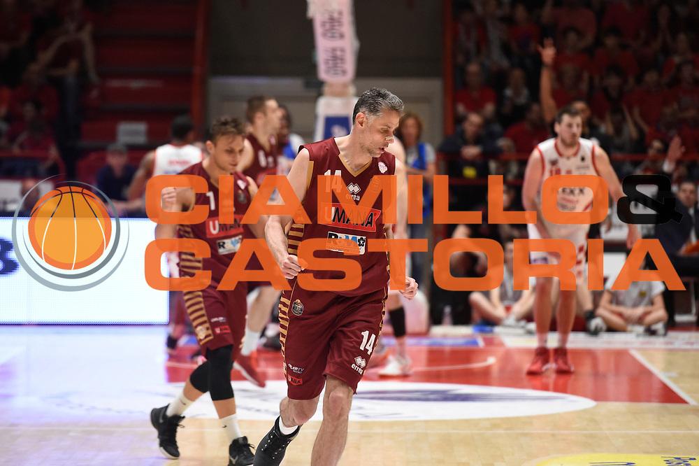 Thomas Ress<br /> The Flexx Pistoia Umana Reyer Venezia<br /> Lega Basket Serie A 2016/2017<br /> Playoff Quarti di finale Gara 4<br /> Pistoia 19/05/2017<br /> Foto Ciamillo-Castoria