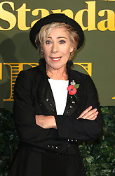 © Licensed to London News Pictures. 13/11/2016. London, UK, Zoe Wanamaker, Evening Standard Theatre Awards, Photo credit: Richard Goldschmidt/LNP