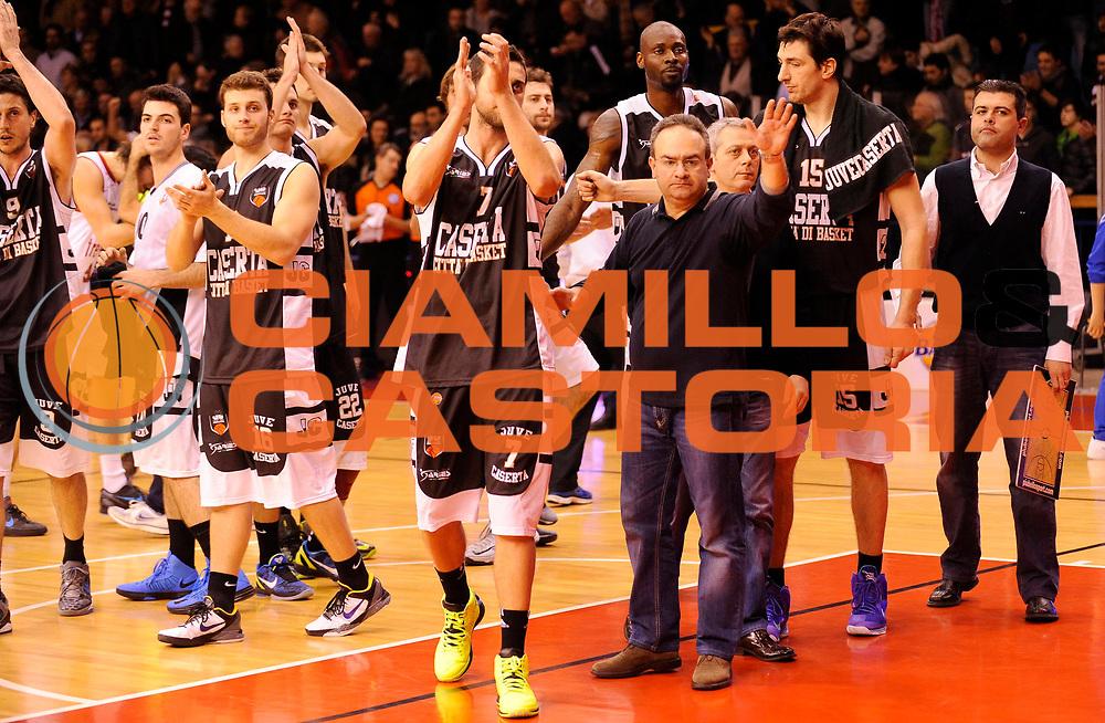 DESCRIZIONE : Reggio Emilia Lega A 2012-13 Trenkwalder Reggio Emilia Juvecaserta <br /> GIOCATORE : <br /> SQUADRA :  Juvecaserta <br /> EVENTO : Campionato Lega A 2012-2013<br /> GARA :  Trenkwalder Reggio Emilia Juvecaserta <br /> DATA : 13/01/2013<br /> CATEGORIA :  Fair Play<br /> SPORT : Pallacanestro<br /> AUTORE : Agenzia Ciamillo-Castoria/A.Giberti<br /> Galleria : Lega Basket A 2012-2013<br /> Fotonotizia : Reggio Emilia Lega A 2012-13 Trenkwalder Reggio Emilia Juvecaserta <br /> Predefinita :