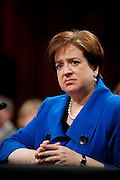 June 28, 2010 - Washington, District of Columbia, U.S., -  Solicitor General Elena Kagan appears before the Senate Judiciary Committee for hearings on her nomination to be an associate justice of the Supreme Court.(Credit Image: © Pete Marovich/ZUMA Press)