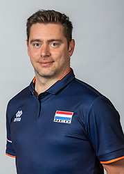 10-05-2018 NED: Team shoot Dutch volleyball team women, Arnhem<br /> Alessandro Beltrami, Assistent-bondscoach