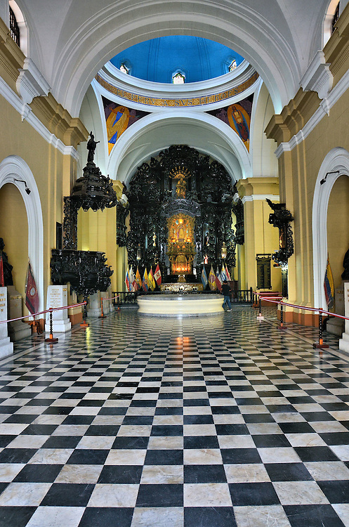 Pantheon of Heroes Foyer in Lima, Peru<br />