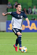 MELBOURNE, VIC - MARCH 05: Storm Roux (2) of Melbourne Victory runs the ball downfield during the AFC Champions League soccer match between Melbourne Victory and Daegu FC on March 05, 2019 at AAMI Park, VIC. (Photo by Speed Media/Icon Sportswire)