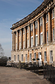 The Royal Crescent, Bath, England by Architect John Wood the Younger