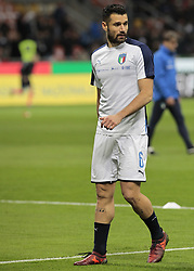 November 13, 2017 - Milan, Italy - Antonio Candreva during the playoff match for qualifying for the Football World Cup 2018  between Italia v Svezia, in Milan, on November 13, 2017. (Credit Image: © Loris Roselli/NurPhoto via ZUMA Press)