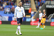 Bolton Wanderers striker Jamie Proctor (9) during the EFL Sky Bet League 1 match between Bolton Wanderers and Bradford City at the Macron Stadium, Bolton, England on 24 September 2016. Photo by Simon Brady.