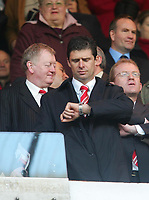 Photo: Andrew Unwin.<br /> Sunderland v Barnsley. Coca Cola Championship. 21/10/2006.<br /> Sunderland's chairman, Niall Quinn.