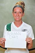 Men and Women's soccer team head shots