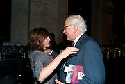 DORIT MOUSAIEF; SIR EVELYN DE ROTHSCHILD, Sir Harold Evans' My Paper Chase Book Launch. The Wapping Project, Wapping Hydraulic Power Station, London, 5 October 2009.