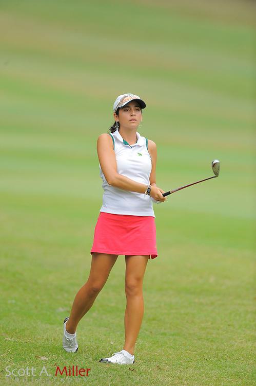 Juliana Murcia Ortiz during the LPGA Futures Tour Eagle Classic at the Richmond Country Club on Aug. 13, 2011 in Richmond, Va...© 2011 Scott A. Miller