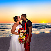 Miller-Bridgeman Beach Wedding Photos