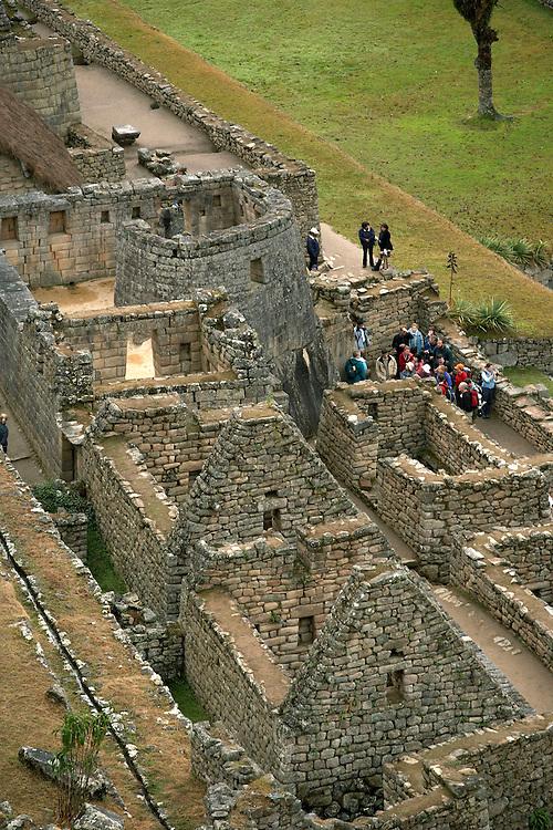 Overlooking Machu Picchu.Peru