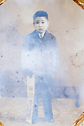 Shichi Go San portrait of a 5 year old boy Japan ca 1950s