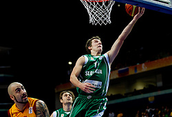 Goran Dragic of Slovenia during basketball game between National basketball teams of F.Y.R. of Macedonia and Slovenia at FIBA Europe Eurobasket Lithuania 2011, on September 10, 2011, in Siemens Arena,  Vilnius, Lithuania.  (Photo by Vid Ponikvar / Sportida)