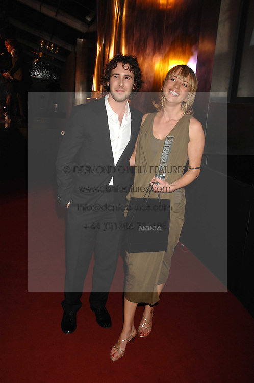 SARA COX and JOSH GROBAN at the Glamour magazine Women of the Year Awards held in the Berkeley Square Gardens, London W1 on 5th June 2007.<br />