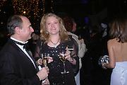 Laura Sandys, The Black and White Winter Ball. Old Billingsgate. London. 8 February 2006. -DO NOT ARCHIVE-© Copyright Photograph by Dafydd Jones 66 Stockwell Park Rd. London SW9 0DA Tel 020 7733 0108 www.dafjones.com