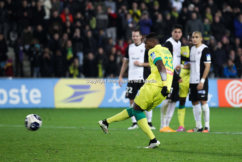 Goal Serge GAKPE - 16.12.2014 - Nantes / Metz - Coupe de la Ligue -<br />