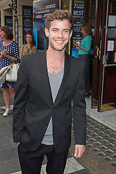 © Licensed to London News Pictures. 01/07/2013. London, UK. Harry Treadaway at the A Curious Night at the Theatre - Gala Evening. Photo credit: Brett D. Cove/LNP