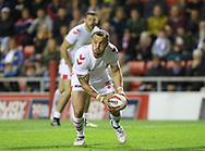 Josh Hodgson of England during the International Friendly match at Leigh Sports Village, Leigh<br /> Picture by Steve McCormick/Focus Images Ltd 07545 862647<br /> 17/10/2018