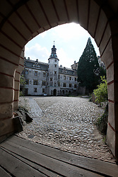 CZECH REPUBLIC FRYDLANT 4SEP15 - Courtyard of Frydlant castle, Liberecko, Czech Republic.<br /> <br /> jre/Photo by Jiri Rezac<br /> <br /> &copy; Jiri Rezac 2015