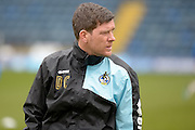 Darrell Clarke Manager of Bristol Rovers during the Sky Bet League 2 match between Wycombe Wanderers and Bristol Rovers at Adams Park, High Wycombe, England on 27 February 2016. Photo by Dennis Goodwin.
