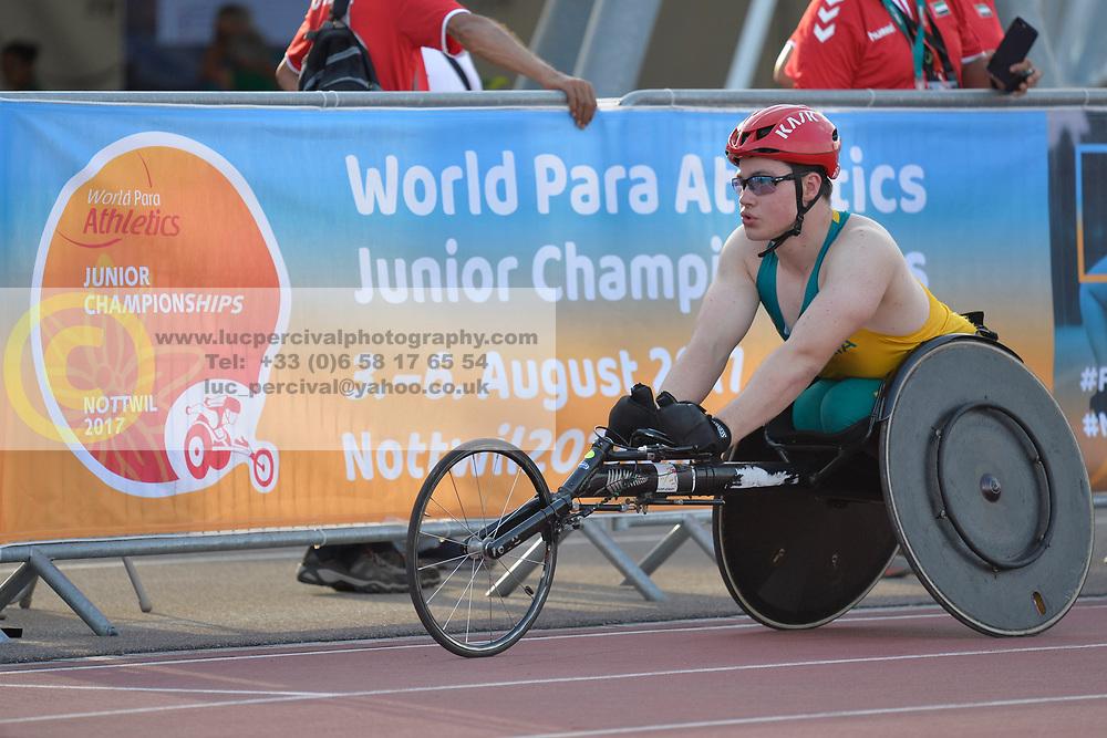 03/08/2017;  at 2017 World Para Athletics Junior Championships, Nottwil, Switzerland