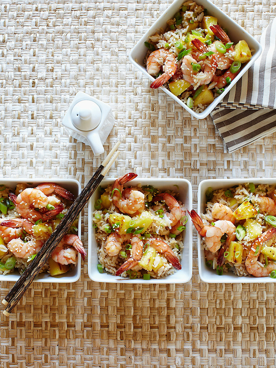 Shrimp Fried Rice with Pineapple