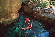 MEXICO, RIVIERA MAYA Xcaret; ecological theme park