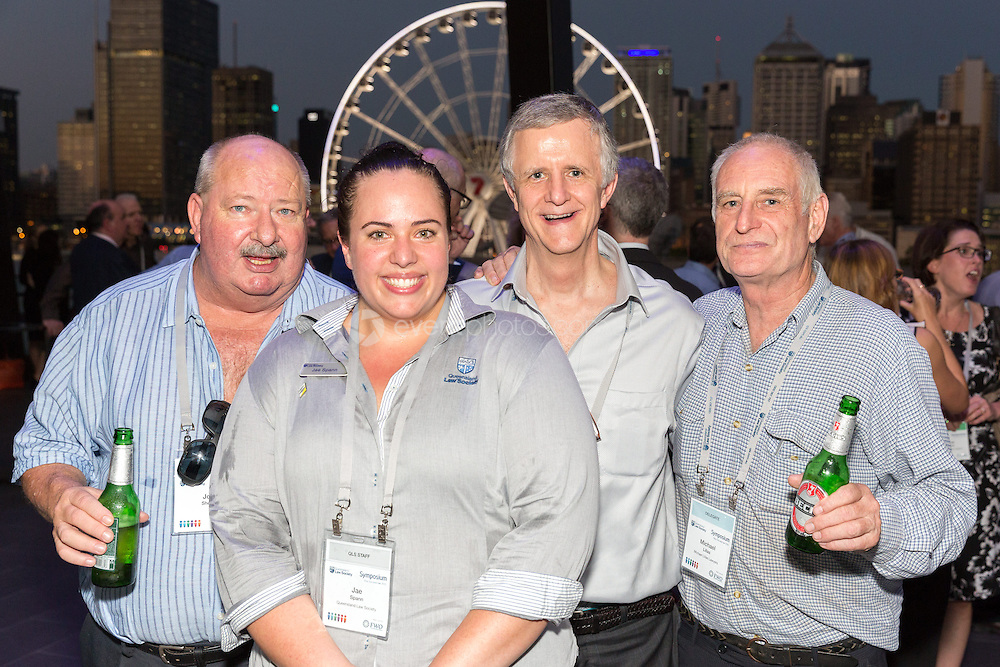 Symposium by Night. CORPORATE/EVENT: Queensland Law Society Symposium 2015. Brisbane, Queensland. 2015. Photo By Pat Brunet/Event Photos Australia