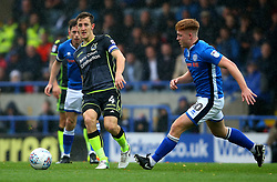 Tom Lockyer of Bristol Rovers passes the ball - Mandatory by-line: Robbie Stephenson/JMP - 21/10/2017 - FOOTBALL - Crown Oil Arena - Rochdale, England - Rochdale v Bristol Rovers - Sky Bet League One