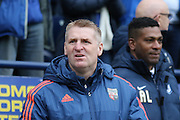 Dean Smith during the Sky Bet Championship match between Preston North End and Brentford at Deepdale, Preston, England on 23 January 2016. Photo by Pete Burns.