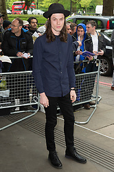 © Licensed to London News Pictures 19/05/2016. JAMES BAY attends the Ivor Novello Awards. London, UK. Photo credit: Ray Tang/LNP
