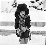 Girl in Anchorage, Alaska's Town Square. 2007