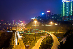 Highway flyover is seen in Chongqing, China, March 4, 2009.
