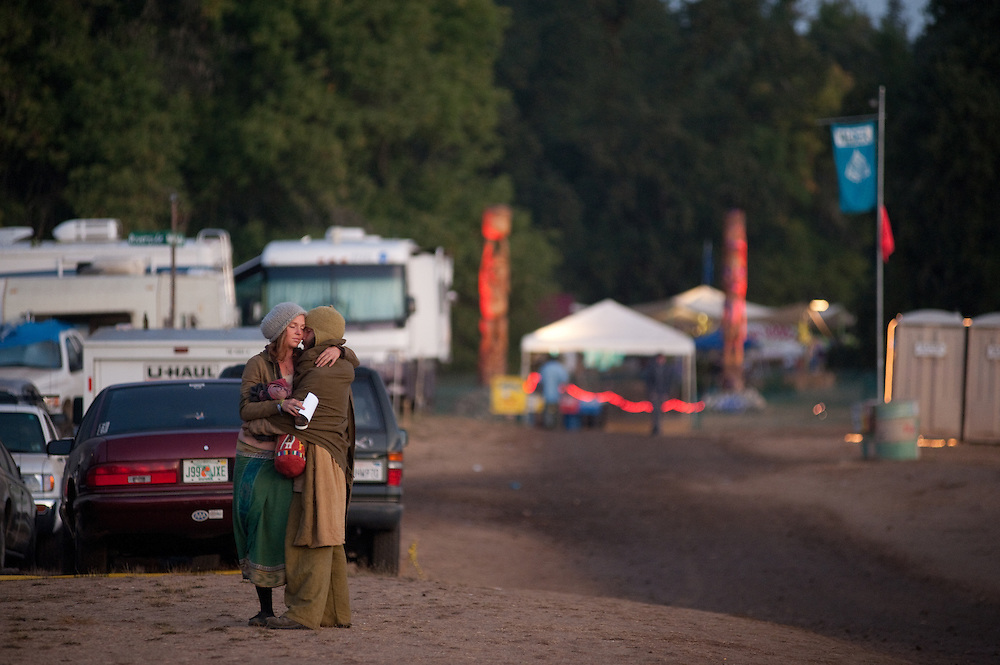 Sometimes it's just too good to go to bed.  Saturday morning, Earthdance 2009.