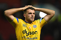 Zach Mercer of Bath Rugby looks dejected after the match - Mandatory byline: Patrick Khachfe/JMP - 07966 386802 - 18/10/2019 - RUGBY UNION - Ashton Gate Stadium - Bristol, England - Bristol Bears v Bath Rugby - Gallagher Premiership