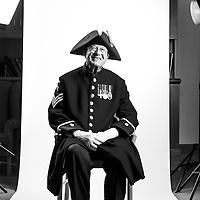 Adrian Coles<br /> 1948-1972<br /> REME/RADL<br /> WPN Instructor<br /> Staff Sergeant<br /> Cypress<br /> MBE<br /> <br /> Veterans Portrait Project<br /> Royal Hospital Chelsea<br /> Chelsea London, UK