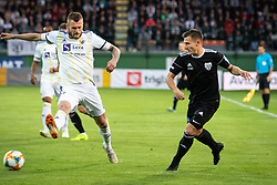 Alexandru Cretu of NK Maribor and Klemen Sturm of NS Mura during football match between NŠ Mura and NK Maribor in semifinal Round of Pokal Telekom Slovenije 2018/19, on April 24, 2019 in Fazanerija, Murska Sobota, Slovenia. Photo by Blaž Weindorfer / Sportida