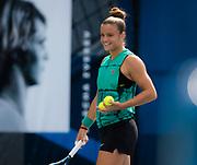 Maria Sakkari of Greece during practice at the 2018 US Open Grand Slam tennis tournament, New York, USA, August 25th 2018, Photo Rob Prange / SpainProSportsImages / DPPI / ProSportsImages / DPPI