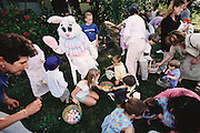 Usa.mw2.53.xs..The annual Caven Family Easter Egg Hunt, at Craig's family's home in Santa Rosa, California. {{Craig Caven, 38, and Regan Ronayne, 42, and their two children, Andrea, 5, and Ryan 3, live in a multi-cultural bedroom community called American Canyon, California, about one hour north of San Francisco.}}.