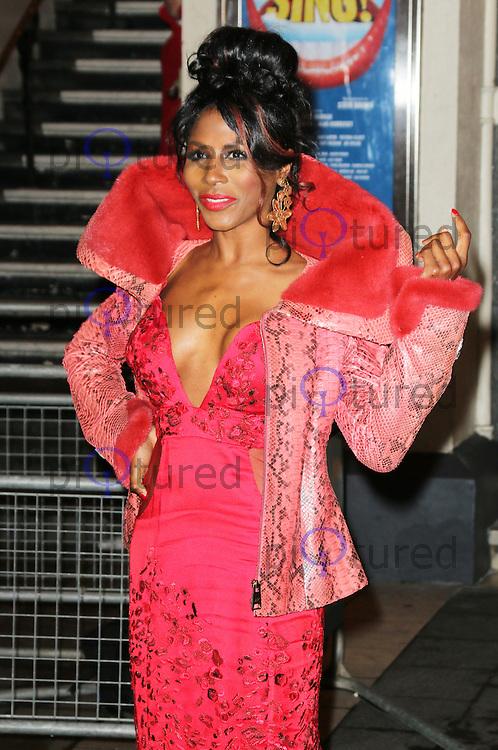 Sinitta, I Can't Sing! The X Factor Musical - press night, London Palladium, London UK, 26 March 2014, Photo by Richard Goldschmidt