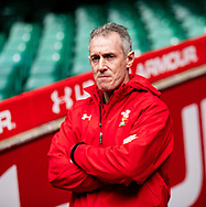 Attack Coach Rob Howley of Wales<br /> <br /> Photographer Simon King/Replay Images<br /> <br /> Six Nations Round 3 - Captains Run - Wales v England - Saturday 22nd February 2019 - Principality Stadium - Cardiff<br /> <br /> World Copyright © Replay Images . All rights reserved. info@replayimages.co.uk - http://replayimages.co.uk