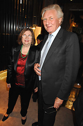 ALISA MOUSSAIEFF and LORD HESELTINE at a Christmas party hosted by The Business and Alisa Moussaieff held at the Moussaieff showrooms, 172 New Bond Street, London on 5th December 2007.<br /><br />NON EXCLUSIVE - WORLD RIGHTS
