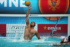 Montenegro v Croatia - European Water Polo Championship - 24 July 2018