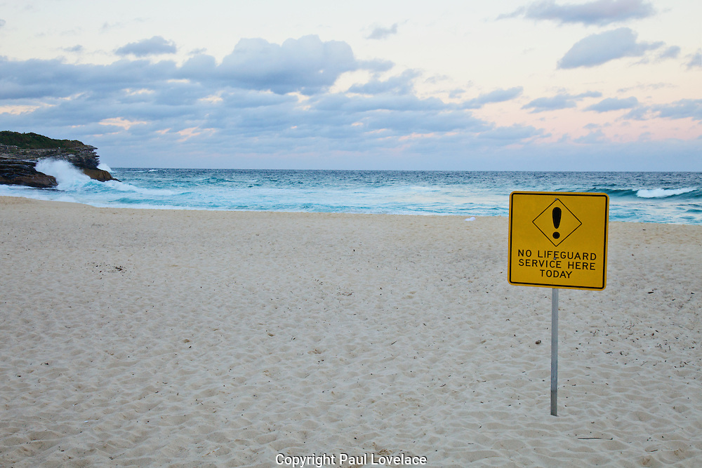 Bronte Beach, Late Afternoon, Sydney, Australia.