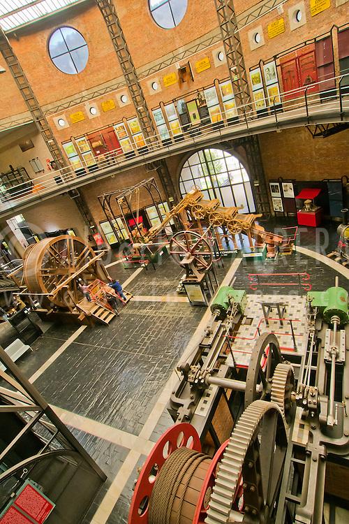 Alberto Carrera, Mining Museum of Asturias, Museo de la Miner&iacute;a y la Industria de Asturias, San Vicente, El Entrego, Asturias, Spain, Europe<br /> <br /> EDITORIAL USE ONLY