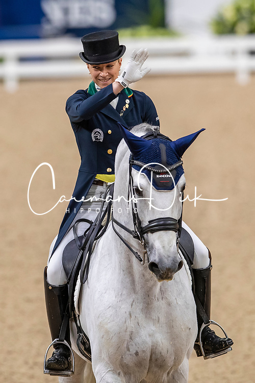 Caetano Maria, POR, Coroado<br /> LONGINES FEI World Cup™ Finals Gothenburg 2019<br /> © Dirk Caremans<br /> 05/04/2019