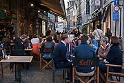 Alfresco dining, Brussels, Belgium