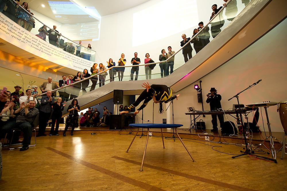 Rosslyn, VA, April 1, 2011 - Artisphere celebrates the Here restaurant grand opening.
